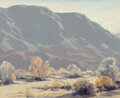 Paintings, Samuel Hyde Harris (American, 1889-1997). Mountain Majesty. Oil on canvas laid on board. 16 x 20 inches (40.6 x 50.8 cm)...