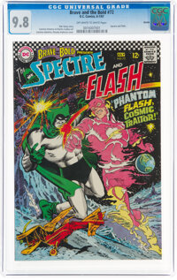 The Brave and the Bold #72 The Spectre and The Flash - Boston Pedigree (DC, 1967) CGC NM/MT 9.8 Off-white to white pages...
