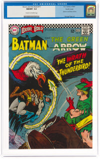 The Brave and the Bold #71 Batman and The Green Arrow - Pacific Coast Pedigree (DC, 1967) CGC NM+ 9.6 Cream to off-white...