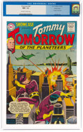 Silver Age (1956-1969):Science Fiction, Showcase #46 Tommy Tomorrow - Pacific Coast Pedigree (DC, 1963) CGC NM+ 9.6 Off-white to white pages....