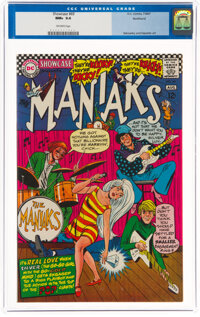 Showcase #69 The Maniaks - Northland Pedigree (DC, 1967) CGC NM+ 9.6 Off-white pages