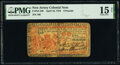 Colonial Notes:New Jersey, New Jersey April 16, 1764 £6 PMG Choice Fine 15 Net.. ...