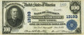 National Bank Notes:New York, New York, NY - $100 1902 Plain Back Fr. 707a The Bank of America National Association New York Ch. # 13193 PMG Very Fi...