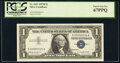 Small Size:Silver Certificates, Low Serial Number 34 Fr. 1621 $1 1957B Silver Certificate....