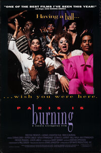 """Paris is Burning & Other Lot (Academy, 1990). Rolled, Very Fine. One Sheets (2) (27"""" X 40"""" & 27""""..."""