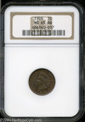Indian Cents: , 1905 MS65 Brown NGC. ...