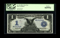 Large Size:Silver Certificates, Fr. 233 $1 1899 Silver Certificate Star Note PCGS Gem New 66PPQ....