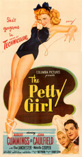 Movie Posters:Comedy, The Petty Girl (Columbia, 1950). Very Fine on Linen.