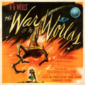 """Movie Posters:Science Fiction, The War of the Worlds (Paramount, 1953). Fine+ on Linen. Six Sheet (79"""" X 80.5"""").. ..."""