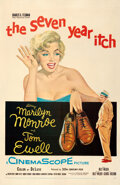 Movie Posters:Comedy, The Seven Year Itch (20th Century Fox, 1955). Very Fine- o...