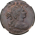 Large Cents, 1800/79 1C Style Two Hair, S-192, B-6, R.4, AU55 NGC....