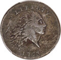 Large Cents, 1793 1C Chain, AMERICA, S-3, B-4, Low R.3 -- Repaired -- PCGS Genuine. VF Details....