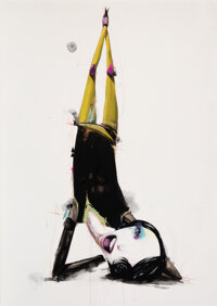 Alexandros Vasmoulakis (b. 1980) Untitled, from Hey Ho! Here We Go, Ever So High, 2009 Mixed media on wove paper