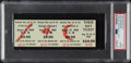 Miscellaneous Collectibles:General, 1969 Woodstock Full Ticket PSA Gem Mint 10....