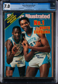 """Basketball Collectibles:Publications, 1983 Michael Jordan First """"Sports Illustrated"""" (11/28), CGC 7.0...."""
