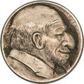 Hobo Nickels, A Scarce, Early Carving from the Classic Era....