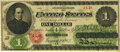 Large Size:Legal Tender Notes, Fr. 17d $1 1862 Legal Tender PMG Very Fine 25.. ...