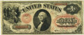 Large Size:Legal Tender Notes, Fr. 25 $1 1875 Legal Tender PMG Very Fine 25.. ...