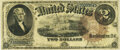 Large Size:Legal Tender Notes, Fr. 54 $2 1880 Legal Tender PMG Choice Fine 15.. ...