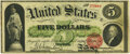 Large Size:Legal Tender Notes, Fr. 63 $5 1863 Legal Tender PMG Uncirculated 62.. ...