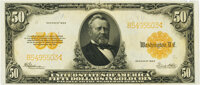 Fr. 1200 $50 1922 Gold Certificate PMG Uncirculated 62