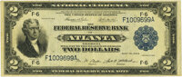 Fr. 763 $2 1918 Federal Reserve Bank Note PMG Very Fine 30