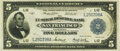 Large Size:Federal Reserve Bank Notes, Fr. 809a $5 1918 Federal Reserve Bank Note PMG Very Fine 30.. ...