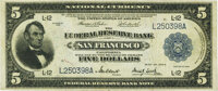Fr. 809a $5 1918 Federal Reserve Bank Note PMG Very Fine 30