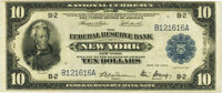 Fr. 810 $10 1918 Federal Reserve Bank Note PMG Very Fine 30