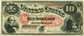 Large Size:Legal Tender Notes, Fr. 97 $10 1875 Legal Tender PMG Very Fine 30.. ...