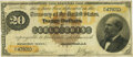 Large Size:Gold Certificates, Fr. 1177 $20 1882 Gold Certificate PMG Choice Fine 15.. ...
