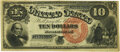Large Size:Legal Tender Notes, Fr. 104 $10 1880 Legal Tender PMG Extremely Fine 40.. ...