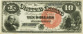 Large Size:Legal Tender Notes, Fr. 106 $10 1880 Legal Tender PMG Choice Uncirculated 64.. ...