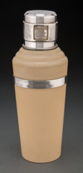 Other, Wilson & Gill (British, est. 1892). Ivory Master INCOLOR Cocktail Shaker, circa 1930. Chrome-plated metal, Bakelite . 11...