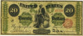 Large Size:Legal Tender Notes, Fr. 125 $20 1862 Legal Tender PMG Very Fine 20.. ...