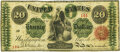 Large Size:Legal Tender Notes, Fr. 126b $20 1863 Legal Tender PMG Very Fine 20.. ...