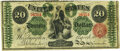 Large Size:Legal Tender Notes, Fr. 126c $20 1863 Legal Tender PMG Very Fine 20.. ...