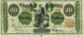 Large Size:Legal Tender Notes, Fr. 126c $20 1863 Legal Tender PMG Choice Fine 15.. ...