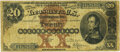 Large Size:Silver Certificates, Fr. 310 $20 1880 Silver Certificate PMG Choice Fine 15.. ...