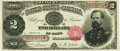 Fr. 356 $2 1891 Treasury Note PMG About Uncirculated 50 EPQ