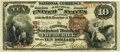 Frederick, MD - $10 1882 Brown Back Fr. 480 The Central National Bank Ch. # 1138 PMG Choice Very Fine 35