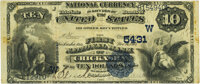 Chickasha, OK - $10 1882 Value Back Fr. 578 The First National Bank Ch. # (W)5431 PMG Very Fine 25