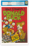 Golden Age (1938-1955):Cartoon Character, Four Color #178 Donald Duck - Rockford Pedigree (Dell, 1947) CGC NM+ 9.6 Off-white to white pages....