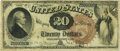 Large Size:Legal Tender Notes, Fr. 131 $20 1880 Legal Tender PMG Very Fine 20.. ...