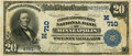 National Bank Notes:Minnesota, Minneapolis, MN - $20 1902 Date Back Fr. 649a The First & Security National Bank Ch. # (M)710 PMG Very Fine 25.. ...