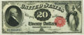 Large Size:Legal Tender Notes, Fr. 144 $20 1880 Legal Tender PMG Choice Uncirculated 64 EPQ.. ...
