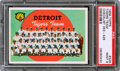 Baseball Cards:Singles (1950-1959), 1959 Topps Tigers Team #329 PSA Mint 9 - None Higher!
