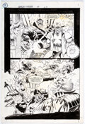 Original Comic Art:Story Page, Ron Garney and Chris Ivy Ghost Rider #43 Story Page 2 Original Art (Marvel, 1993)....