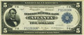 Fr. 791 $5 1918 Federal Reserve Bank Note PMG Extremely Fine 40
