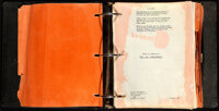 The Ten Commandments (Paramount, 1956). Very Good/Fine. Original Script in Binder (308 Pages), Glossy Publication Page (...